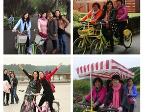 春天的旋律——校妇委会组织女教职工踏青活动